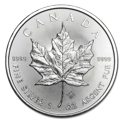 Stříbrná mince Canadian Maple Leaf 1 oz (2014)