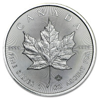 Stříbrná mince Canadian Maple Leaf 1 oz (2016)