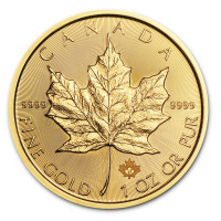 Zlatá mince Canadian Maple Leaf 1 oz